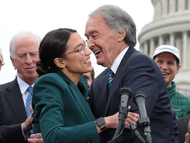 Alexandria Ocasio-Cortez: 73-Year-Old Ed Markey Is the 'Generational Change We've Been Waiting For'