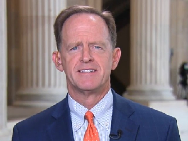 GOP Sen. Toomey: Trump's 'Trade War' Is a 'Threat' to Economy