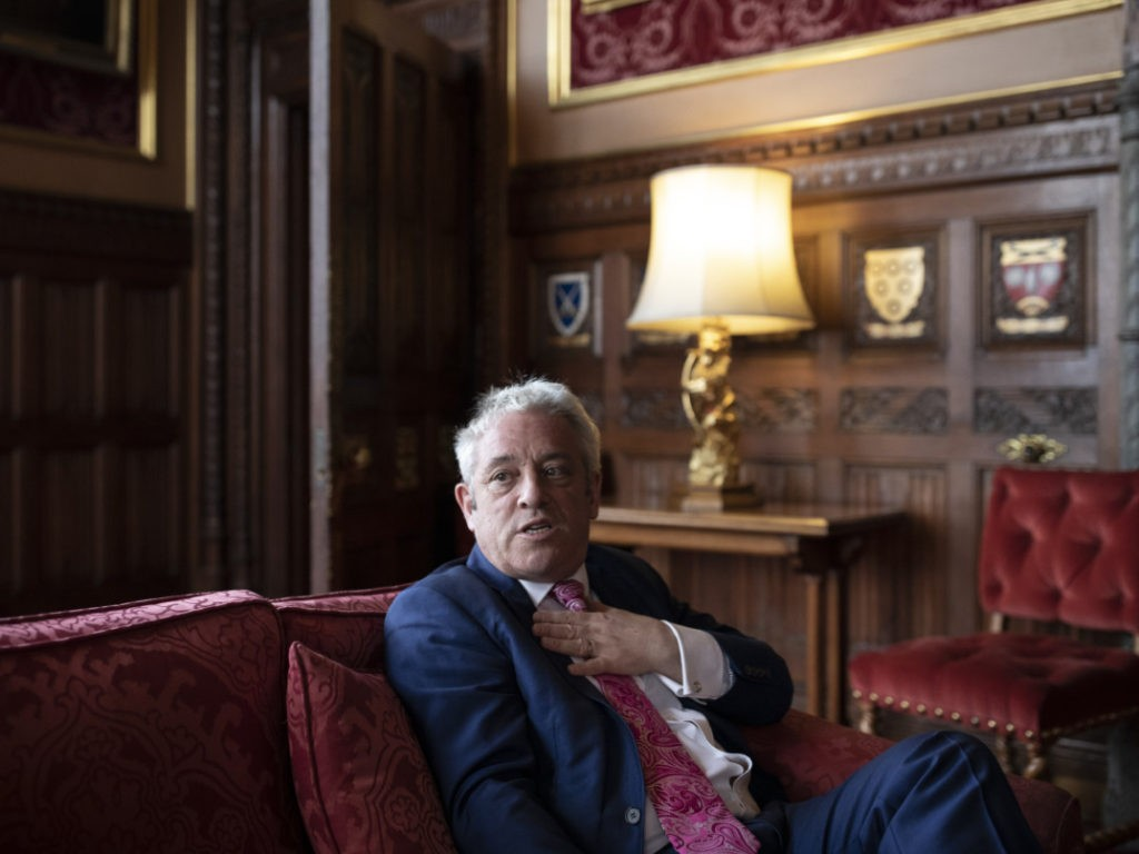 UK Parliament Will be Suspended Tonight, Activist Speaker Bercow to Resign