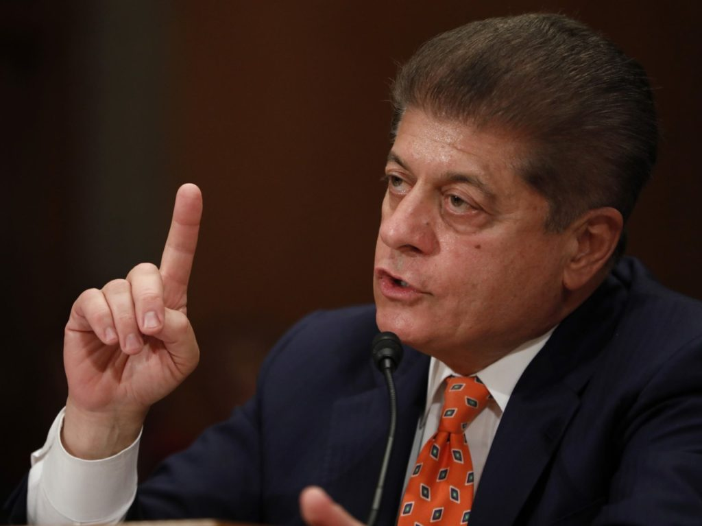 Pollak: 5 Times Fox News' Judge Andrew Napolitano Said Trump Committed a Crime -- And Was Wrong