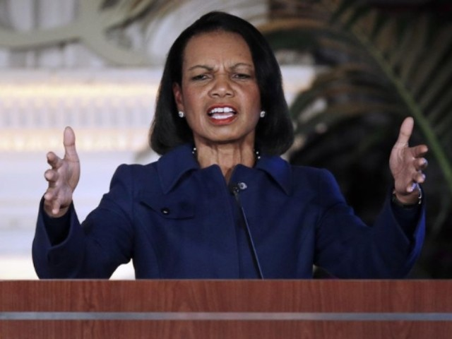 Condoleezza Rice: Trump Admin's 'Commitment to Human Rights' Not 'as Strong as I Would Like'