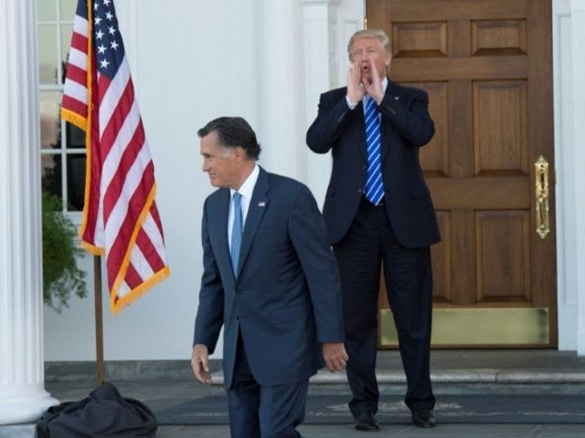 Mitt Romney Says He Is 'Not Planning' to Endorse Trump in 2020