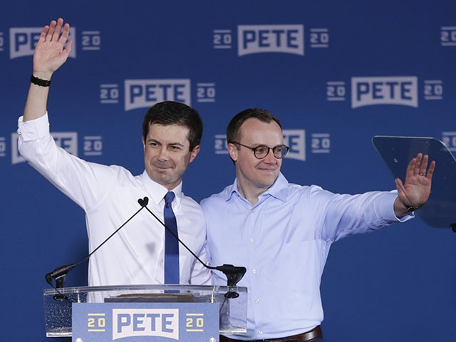 Pete Buttigieg Husband Snipes at 'Homophobic' Mike Pence and Gay Trump Aide