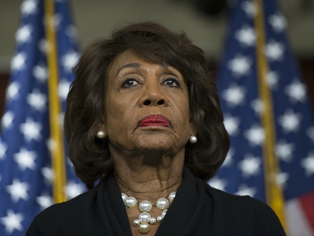 Maxine Waters: 'Terrible' Trump Was Jeffrey Epstein's Best Friend