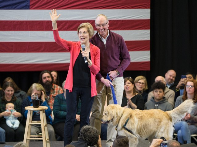 Report: Elizabeth Warren's 'Free College' Plan Unsustainable if Husband Keeps $400k Harvard Salary