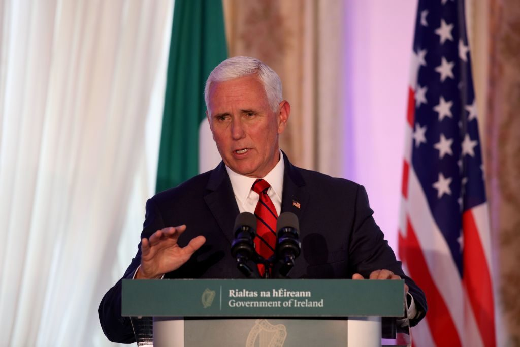 VP Pence Tells Truculent Ireland to Cooperate With Britain on Brexit