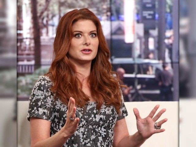 Debra Messing Celebrates Sign Calling Black Trump Voters 'Mentally Ill'