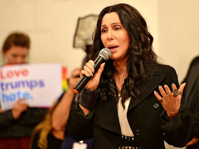 Cher: Trump a 'Miscreant Who Traded His Pathetic Soul to Putin'