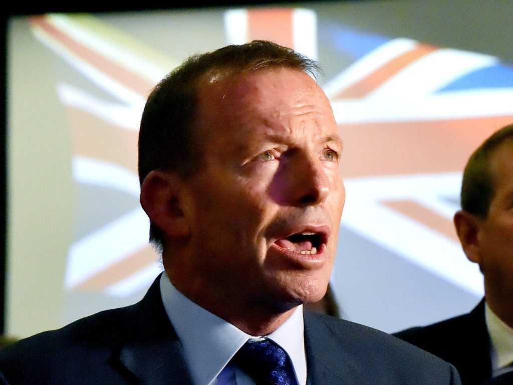 'Get This Done': Former Aussie PM Tony Abbott Backs UK on Brexit