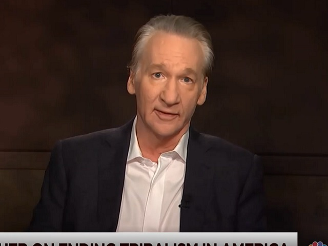 Maher: 'I Love' Warren, But 'She Does Scare Me'