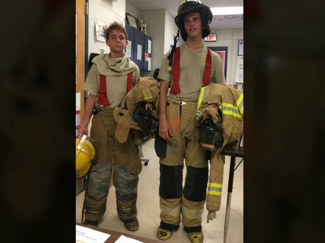 Florida Students Climb 100 Flights of Stairs to Honor 9/11 Victims