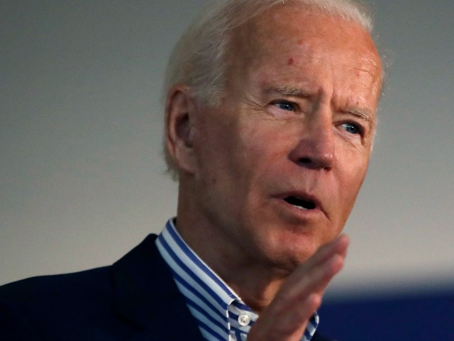 Biden: 'Disgraceful' Trump Has No 'Intestinal Fortitude' to Deal with Gun Control