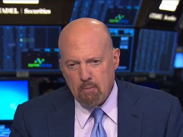 Jim Cramer: Executives 'Fearful' of Elizabeth Warren Winning -- 'She's Got to Be Stopped'