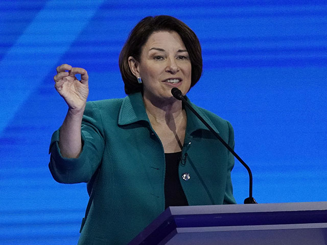 Amy Klobuchar Calls for 'Voluntary Buyback Program' on Guns