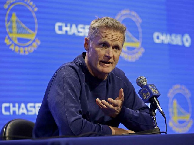 Steve Kerr Silent on Chinese Human Rights Abuses, Slams AR-15s Instead