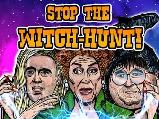 Exclusive: Donald Trump Campaign Launches 'Hocus Pocus' Parody Merchandise Mocking Democrat 'Witch Hunt'