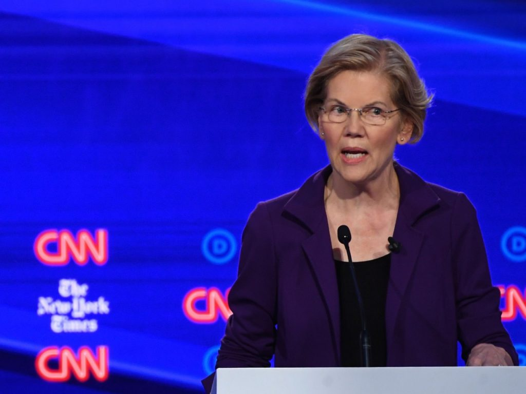 Elizabeth Warren Won't Deny Her 'Medicare for All' Plan Raises Middle Class Taxes