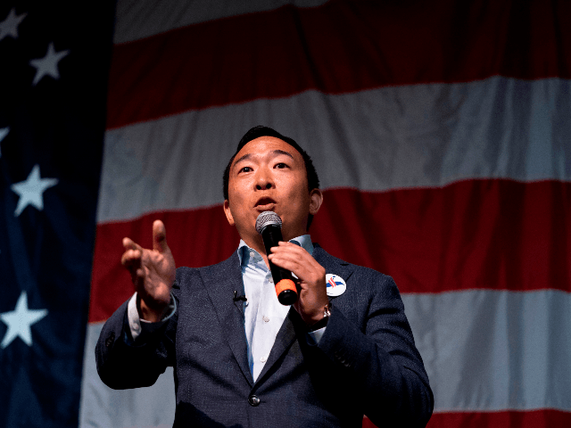 Watch Live: Andrew Yang Holds 'Humanity First' Press Conference