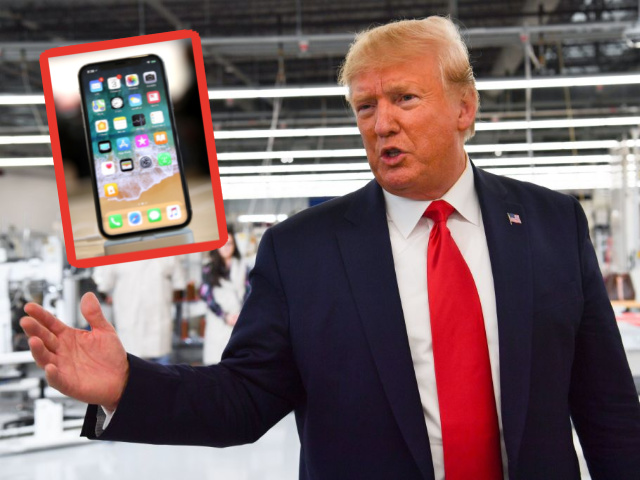 Donald Trump Misses the Old iPhone Home Button