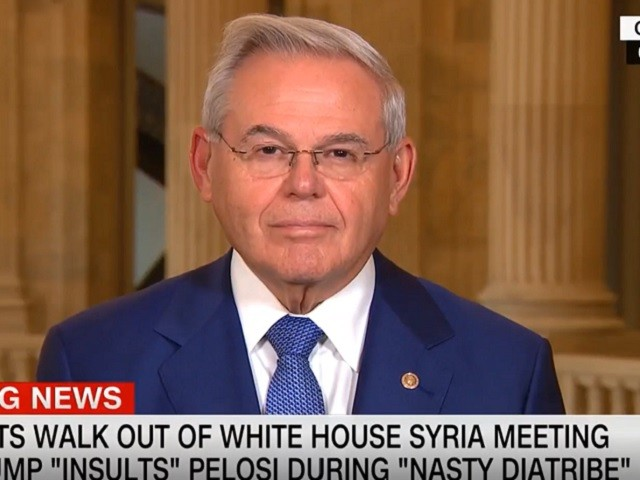 Menendez: Trump 'Suggested that the Kurds Are Communists' in Meeting