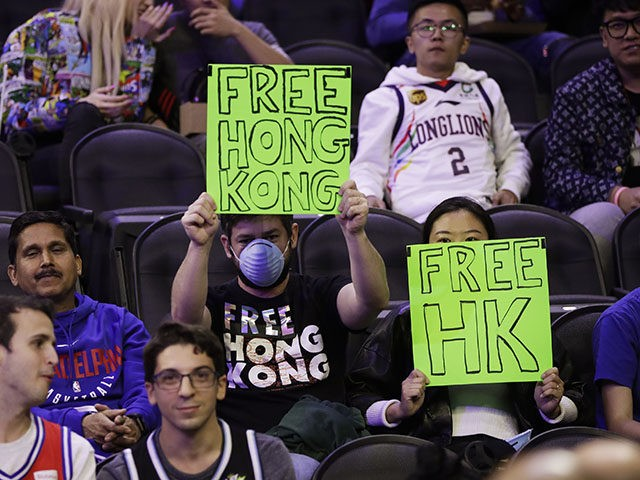 Couple Ejected from Sixers Game for Shouting 'Free Hong Kong'