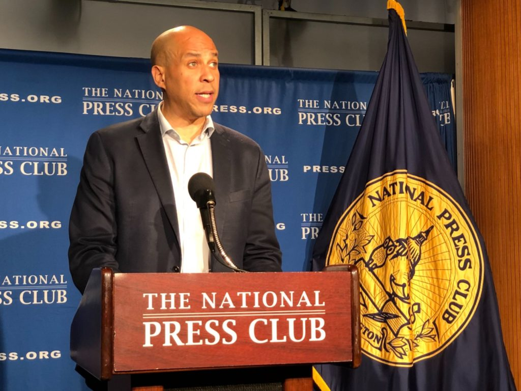 Watch Live: Cory Booker Holds Press Conference on 2020 Presidential Bid