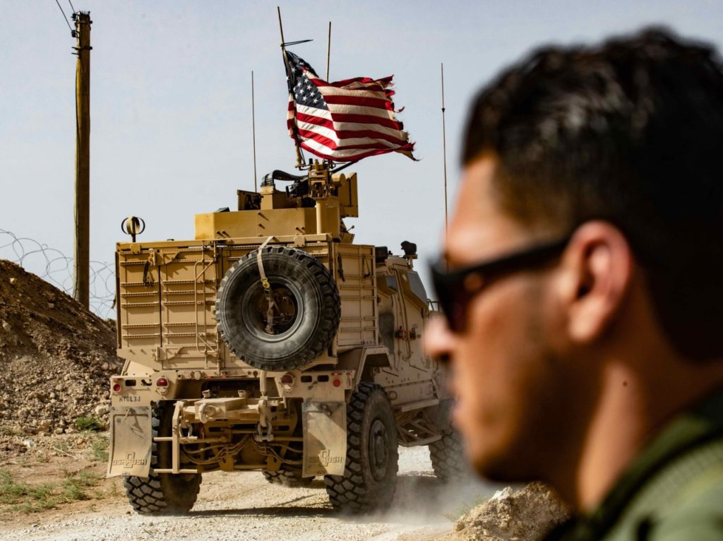 Report: Syria Fuss over Moving Fewer than 25 U.S. Troops
