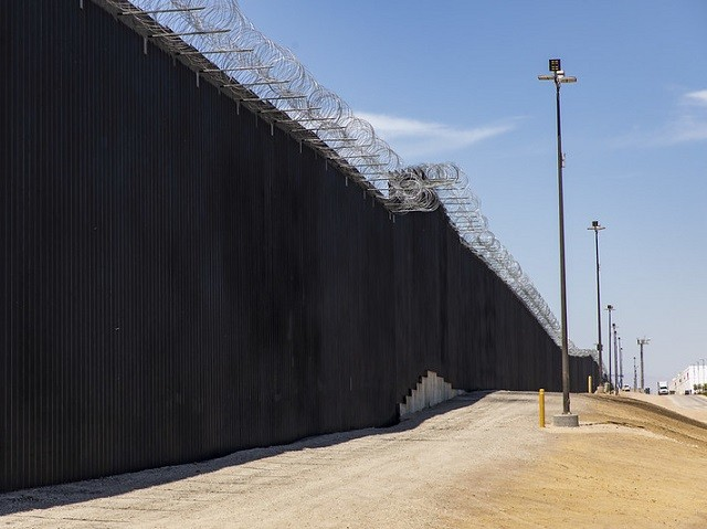 74 Miles of Border Wall Completed, 158 More Under Construction