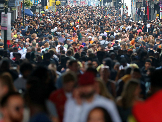 UK Population Set to Hit 70m in Just over a Decade, Three-Quarters Driven by Migration