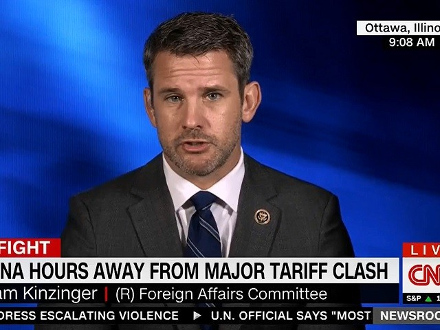 GOP Rep. Kinzinger: Syria Withdrawal 'Disgusting' and 'Sickening'