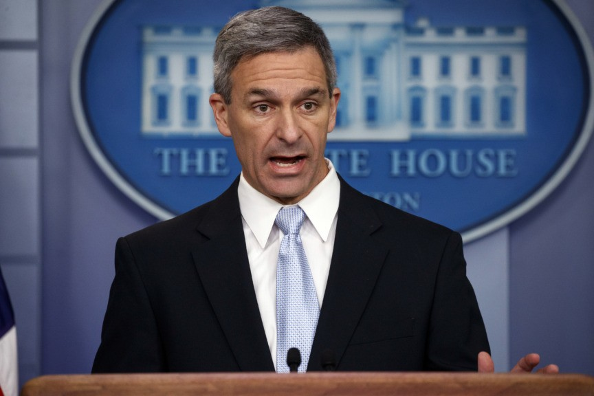 Ken Cuccinelli Gains in Race to Replace Departing DHS Chief
