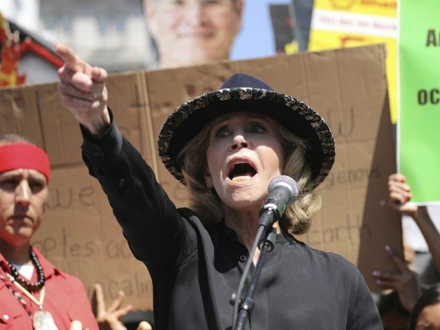 Watch: Jane Fonda Arrested at Climate Change Protest