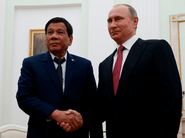 Philippines' Duterte in Moscow to Meet 'Favorite Leader' Putin