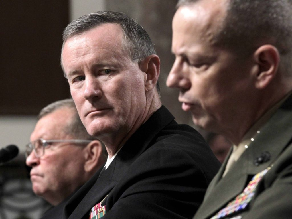 Admiral McRaven in NYT: Remove Trump from Office 'The Sooner, the Better'