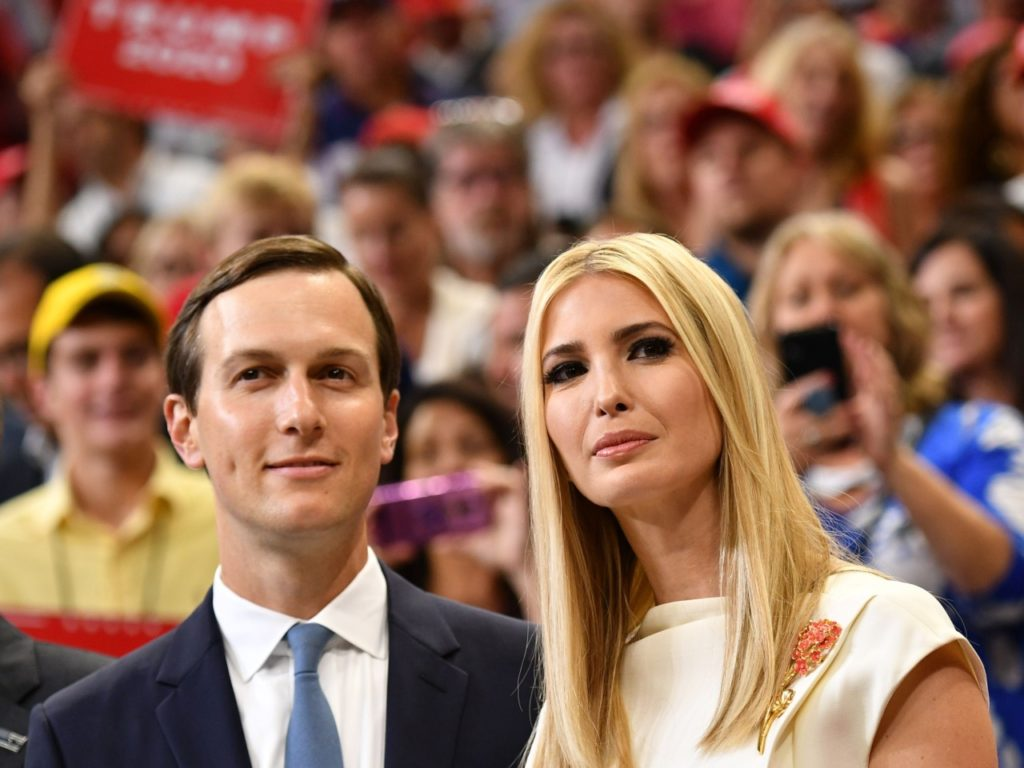 Trump Campaign Defends Jared Kushner and Ivanka Trump after Joe Biden Attacks