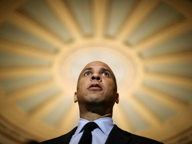 Cory Booker: If I'm the Nominee, Dems Will Have a 'Wave Election,' 'Win the Senate'