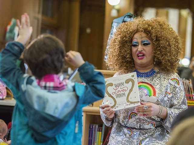Drag Queen Story Hour Event: Boy in Pink Dress Says He Wants to Be Spiderman