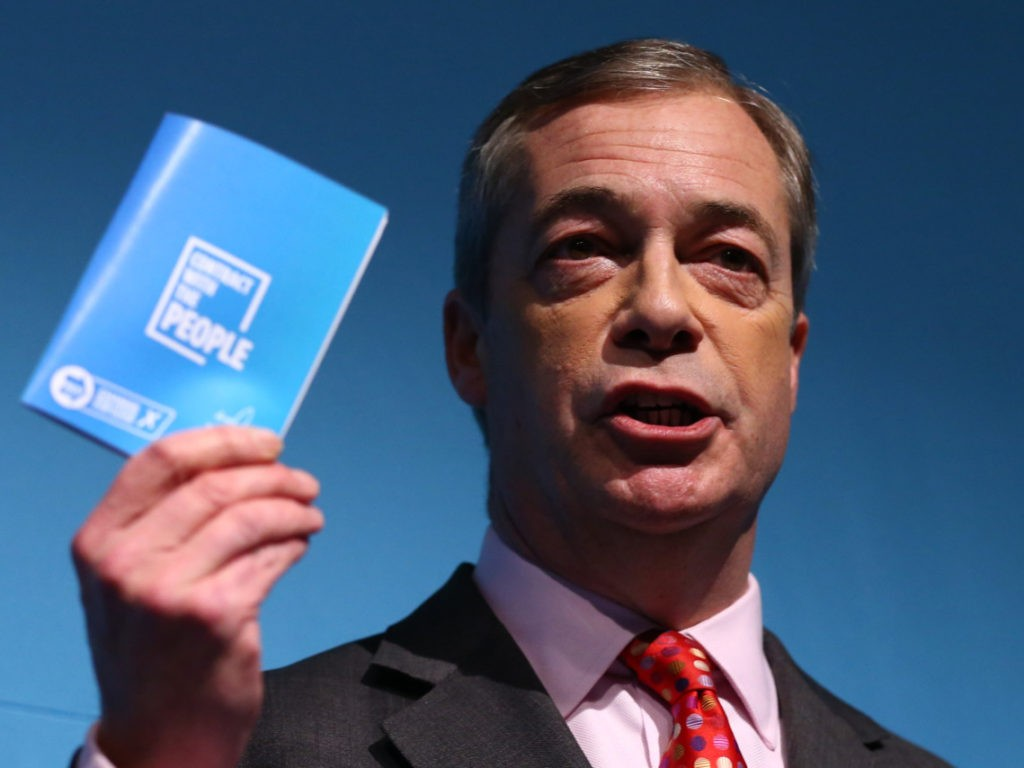 Farage Says UK Needs 'Political Reform' to Drain the Westminster 'Swamp'