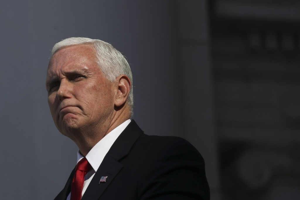 On Veterans Day, Mike Pence Reaches Out to Struggling Veterans