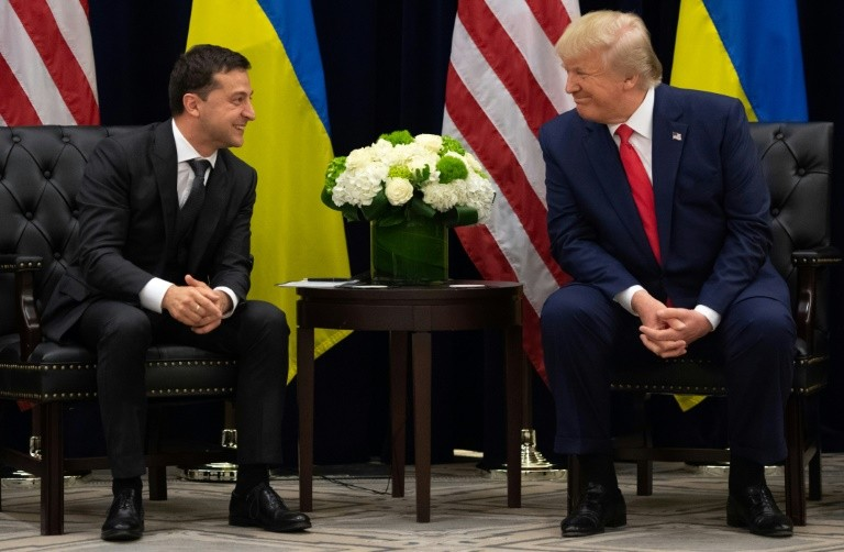 Donald Trump Teases Transcript Release of First Conversation with Ukraine President Volodymyr Zelensky