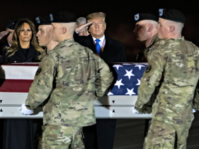 Donald Trump Travels to Dover for Transfer of Fallen Soldiers Killed Overseas