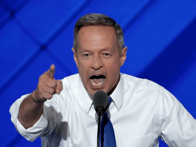 Democrats Applaud Martin O'Malley's Thanksgiving Tirade, Ignore His Disastrous Policies