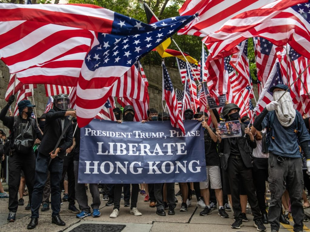 'Full of Arrogance': Furious China Denounces U.S. Support of Hong Kong Protesters