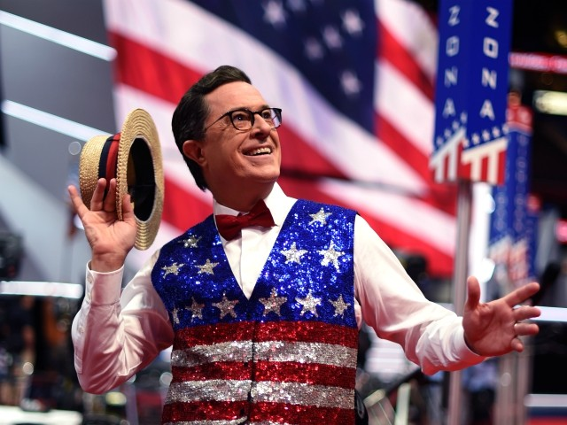 Stephen Colbert Celebrates 'Impeachment Eve' with Christmas Tree and Carols
