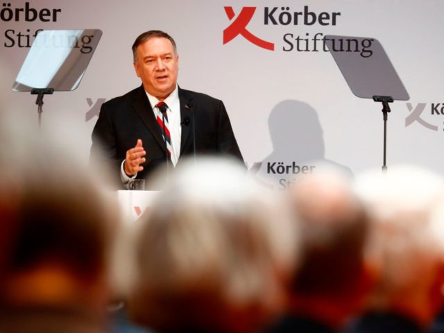 Watch: In Berlin, Pompeo Backs Allied Democracies to Work Together for Freedom