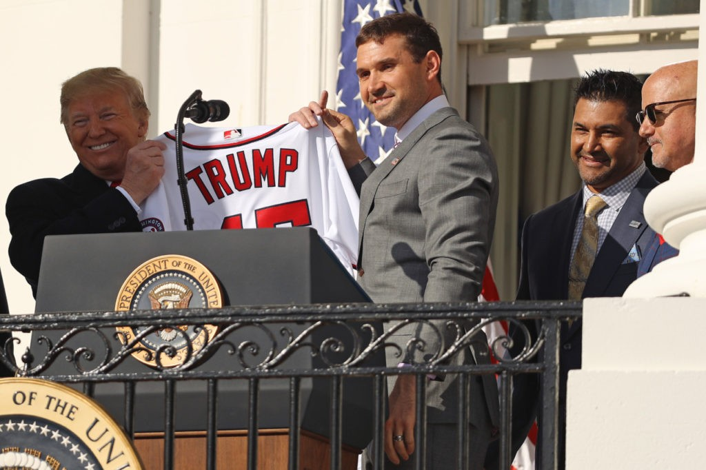 Washington Nationals Celebrate World Series Championship at White House