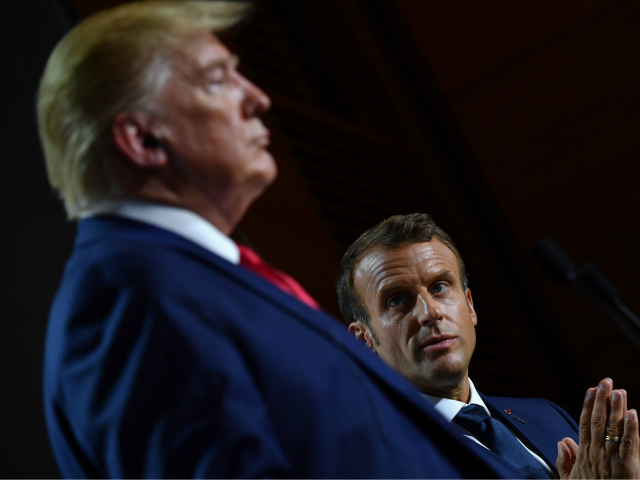 Macron Looking for 'Any Excuse' to Get Rid of U.S., Build 'Walter Mitty EU Army', Says Farage