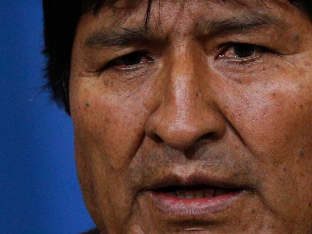 Bolivia: World's Socialists Mourn Evo Morales Resignation After Election Fraud