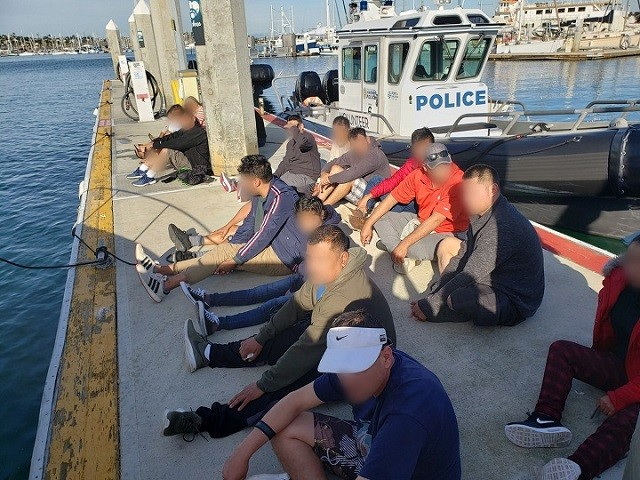 CBP Air and Marine Operations Intercepts 34 Migrants in Offshore Smuggling Incidents