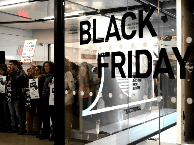 France Bans 'Black Friday' After Climate Protesters Physically Block Shops